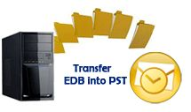 Instantly convert recovered corrupt Exchange EDB File data into new MS Outlook format with transfer all mailbox items by using EDB to PST Outlook software
