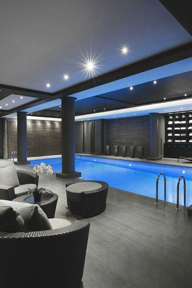 Wohneinrichtung, Innen Außen, Moderne Häuser, Hausbau, Wohnen, Kreativ,  Freibad, Luxus Pools, Luxus Swimmingpools