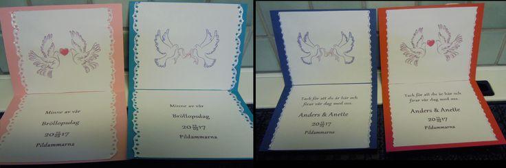 Insidan av Bordsplaceringskort - Bröllop