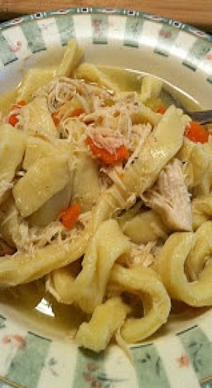 Grandma's Chicken and Noodles