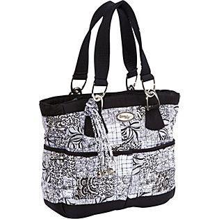 donna sharp handbags | Donna Sharp Elaina Bag, Salt & Pepper - Handbags.com