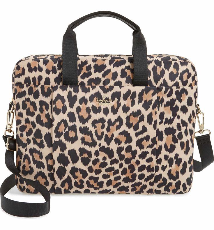 Main Image - kate spade new york leopard commuter bag