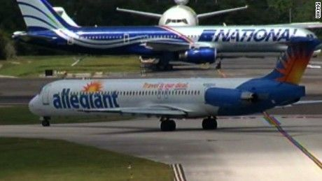 Two sisters say they missed their dad's final moments because Allegiant Air kicked them off their flight.