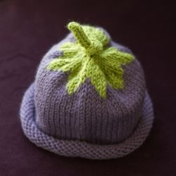These knitted hats are adorable and work up so quickly! The designer has generously made the pattern available free on her blog.
