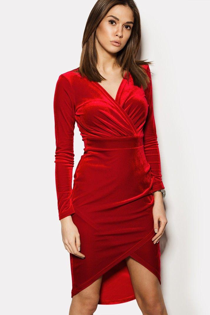 """Платье """"PEONI"""" темно-красное ВЕСНА 799 грн. в брендовом бутике TM CARDO"""