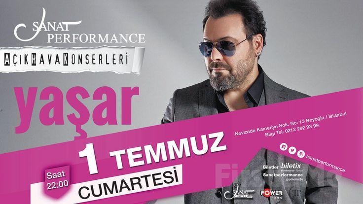 Beyoğlu Sanat Performance'ta 1 Temmuz'da YAŞAR Açık Hava Konseri Giriş Bileti! Türk pop müziğine sayısız besteler üreten ve birbirinden güzel albümlere imza atan Yaşar geçmişten günümüze tüm parçaları ile 1 Temmuz'da Sanat Performance'ta siz sevenleri ile buluşuyor!