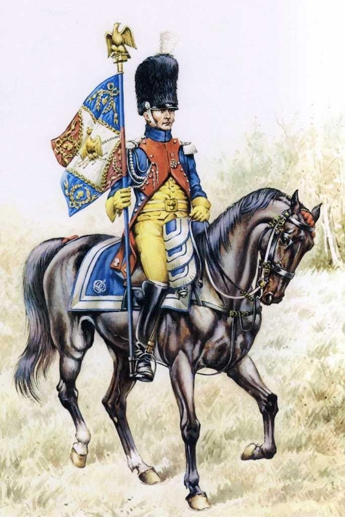 Gendarmes d'Elite Standard Bearer