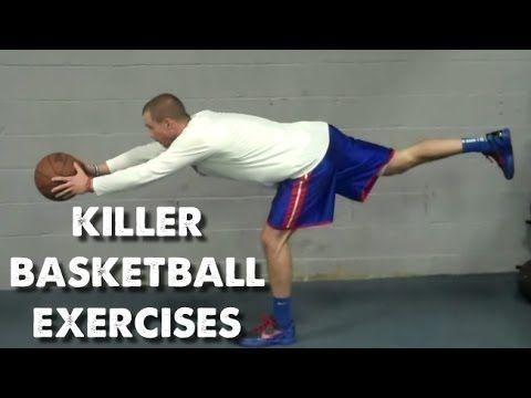 USA Basketball - 18 Killer Strength Exercises for Basketball Players Check out the TRX at 1:06