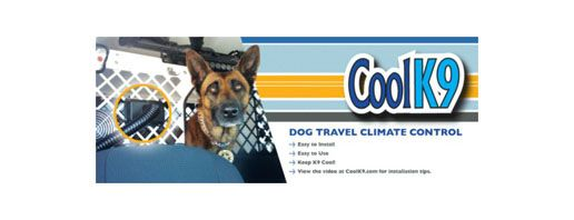 Now you can regulate the temperature of your dog's travel crate using your own vehicle's climate control system regardless of whether you are using a SUV, Minivan or Pickup.