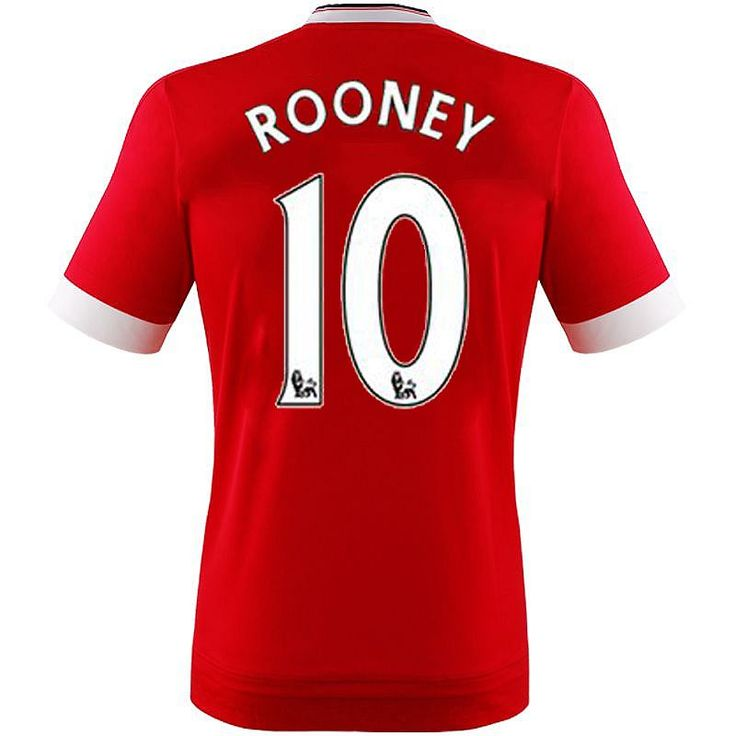 Manchester United Rooney Trikot Home 2016    Das Manchester United Rooney Trikot Home 2016 ist nicht nur ein MUSS für jeden Fußballer, sondern auch für jeden waschechten Manchester United Fan! Bei dem Manchester United Rooney Trikot Home 2016, handelt es sich um ein offizielles Produkt, aus dem Hause adidas, welches optimal zum Fußball spielen, relaxen, Sport machen oder zum Fußball gucken am F...
