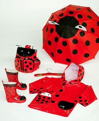 "Kidorable ""Ladybug"" Umbrella - Umbrellas - Handbags & Accessories - Macy's"