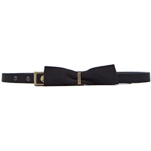 Lanvin Pre SS16: Lanvin Grained Bow Waist Belt (10.705 CZK) ❤ liked on Polyvore featuring accessories, belts, black, waist belt, lanvin belt, lanvin, black waist belt et bow waist belt