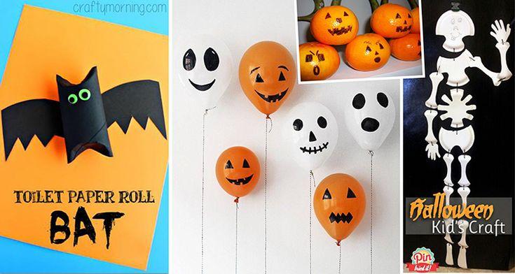 Halloweenské+dekorace:+Rychlovky+za+pár+korun