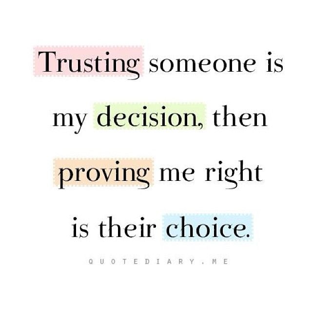Trust Betrayal Giving Others Second Chances Will Only Break You