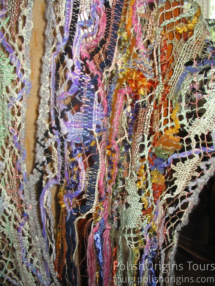 Bobbin shawl by Ewa Szpila http://polishorigins.com/document/bobbin_laces