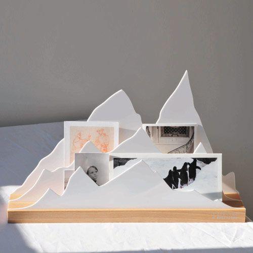 Organiseur de bureau porte-courrier Alpes en hêtre L'atelier d'exercices : Decoclico