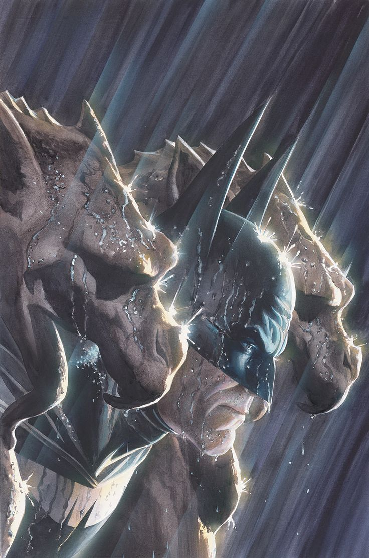 Only because it's Alex Ross... and Batman... and a dark and stormy night...