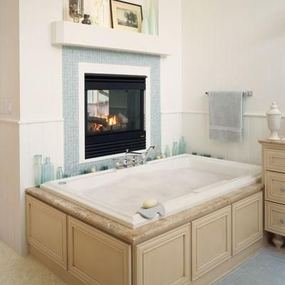 113 Best Elegant Bathroom With Fireplace Images On