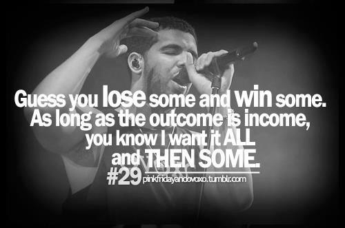 Drake is the man