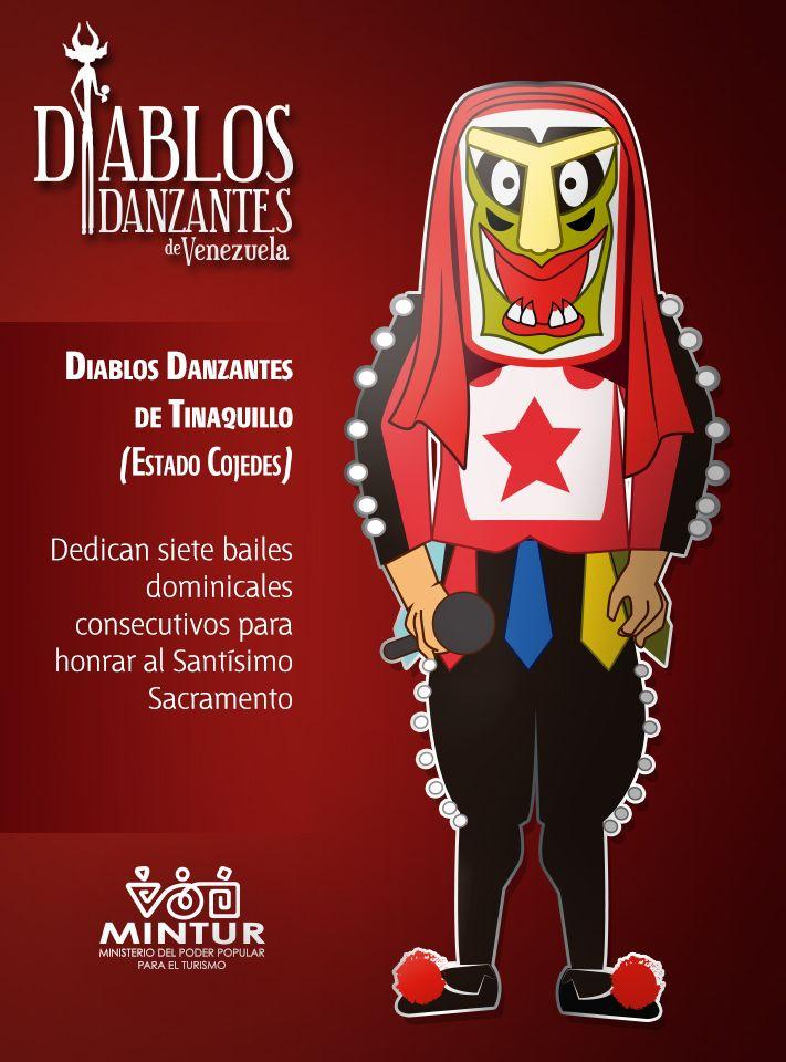 Diablos Danzantes de Tinaquillo #Venezuela #Cojedes #Folclore #CorpusChristi
