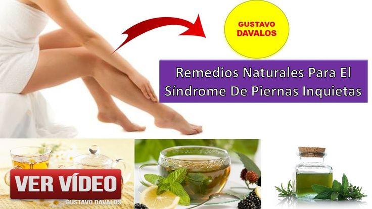 Remedios Naturales Para El Síndrome De Piernas Inquietas