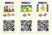 QR kaarten Pasen onderbouw #gratisdownload