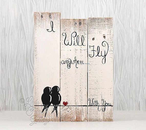 Rustic Wood Sign Reclaimed Wood Art Love от LindaFehlenGallery