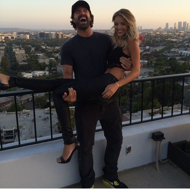 Brody Jenner with girlfriend