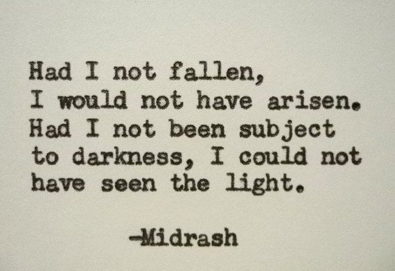 MIDRASH HEBREW Quote Hand Typed Quote Made with by PoetryBoutique
