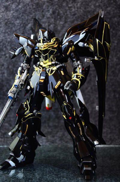 MSN-06S Sinanju (Black Version) Free Gundam Papercraft Download