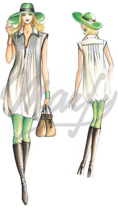 Sewing pattern Dress 2177