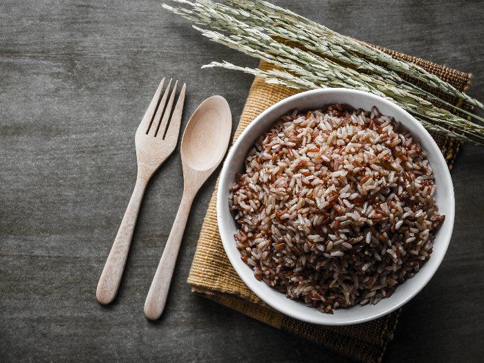 How To Cook Brown Rice | Organic Facts | Recipe in 2020 ...