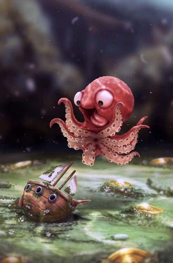 Los primeros años del kraken.