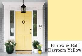 Yellow front door - I love yellow front doors but I imagine finding this perfect yellow is difficult.