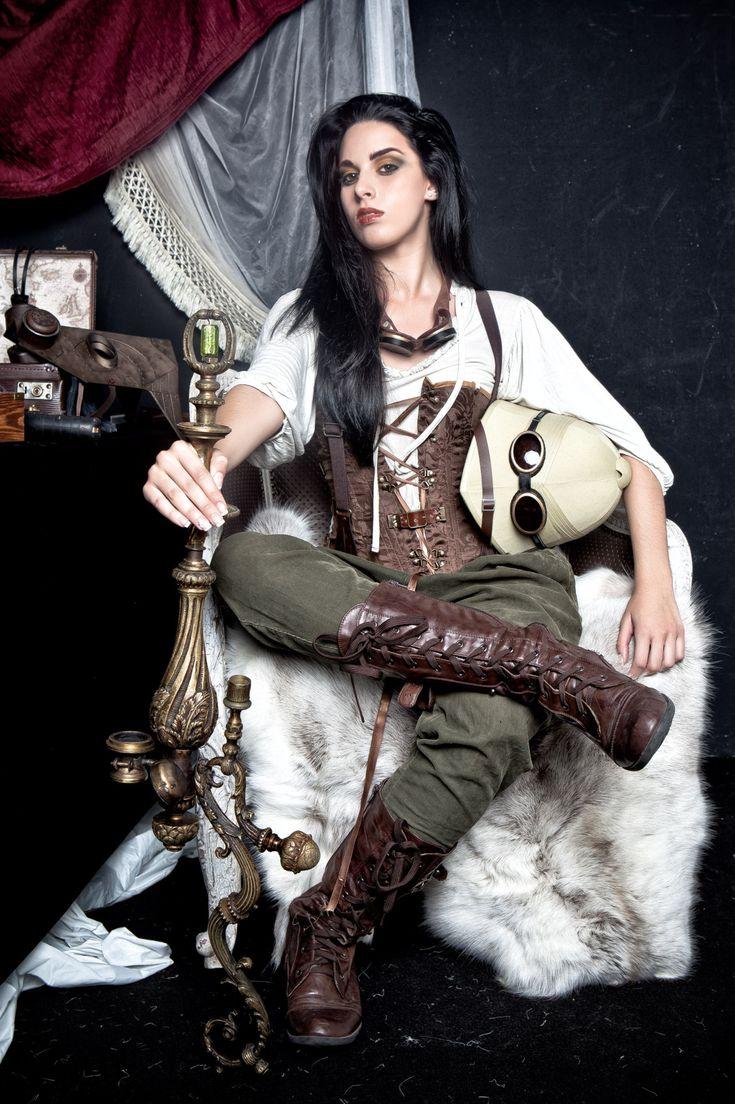 Steampunk Fashion: 691 Best Steampunk Fashion Images On Pinterest