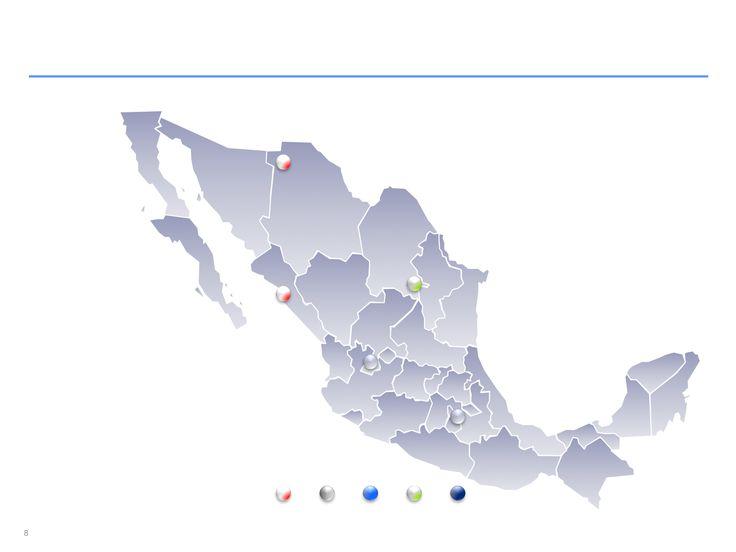 Descarga ahora Mapas de México editables en Power Point