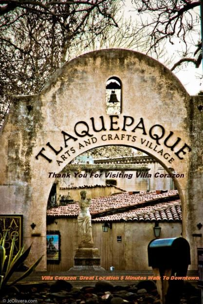 Tlaquepaque in Sedona, AZ. a whole villiage of artsy fartsy stuff? haven't been in many years-about time to go again