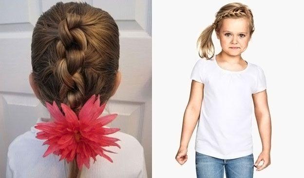 Прически для маленьких девочек в садик фото