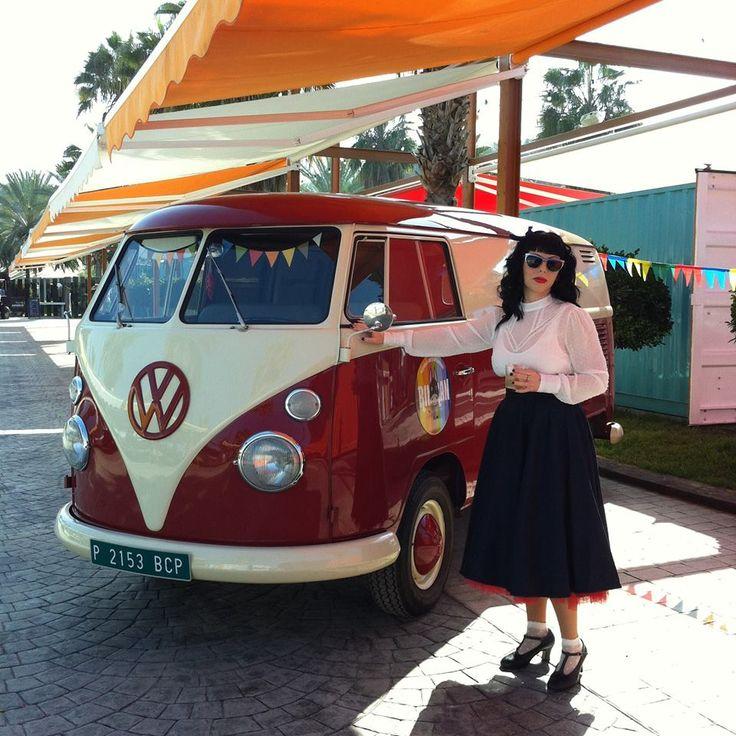 Back to the 60's at Rin Ran Market Carnival! El Palmar, Murcia
