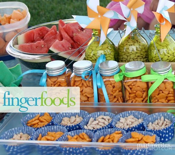 Yummy Finger Food At My Birthday Party: Kids Birthday Parties Pinterest