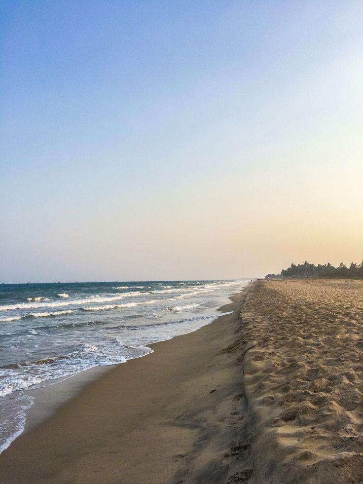 Beach Pondicherry, Southindia