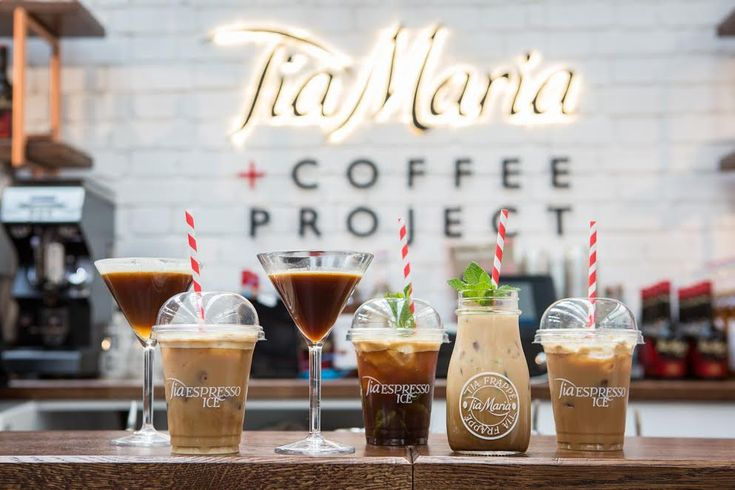 If you love Espresso Martinis, you'll want to try these exciting new coffee based cocktails with Tia Maria.