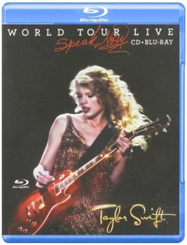 Taylor Swift: Speak Now World Tour Live (Blu-Ray + Cd) By Taylor Swift (0001-01-01)