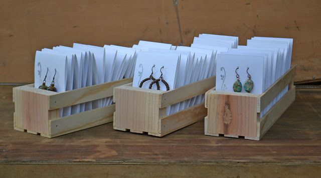 boxes for earrings - via Kristi Bowman