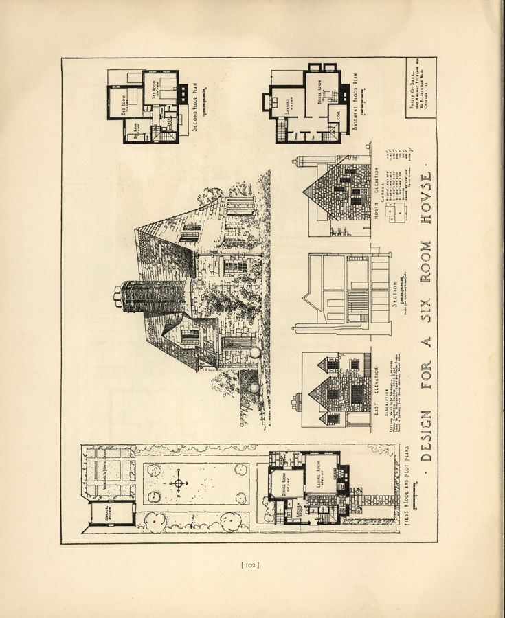 17 Best Images About House Plans 1900 1930s On Pinterest