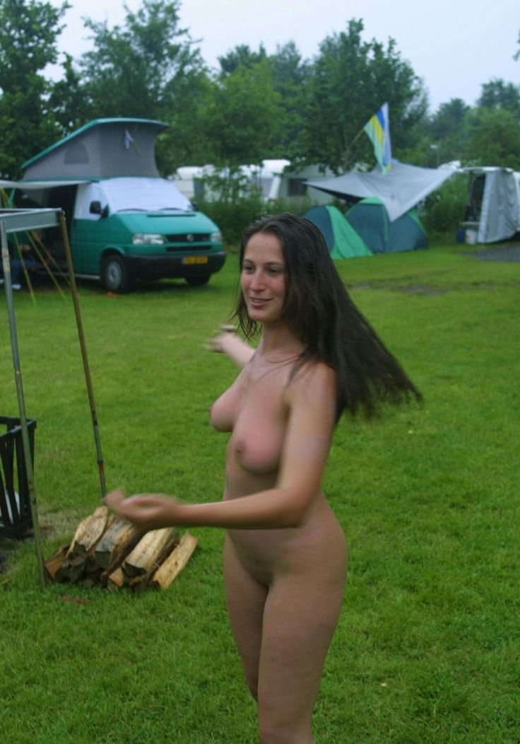 Nude Women On A Camp Site 41