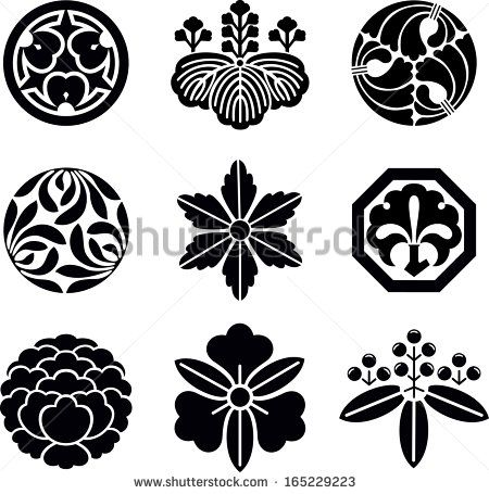 Japanese-family-crest Stock Photos, Images, & Pictures | Shutterstock