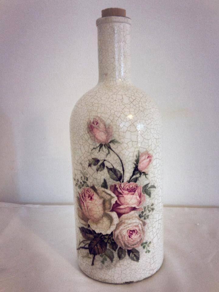 Garrafa Rosa Vintage