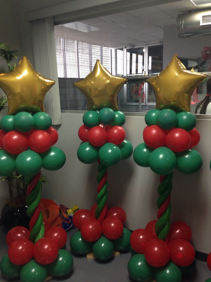 Torres con globos navide as minecraf pinterest for Figuras navidenas para decorar