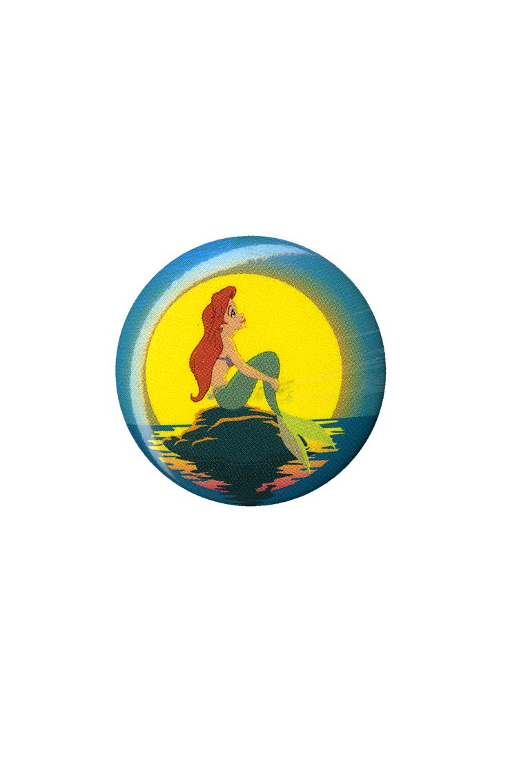 Disney The Little Mermaid Sunset Pin | Hot Topic